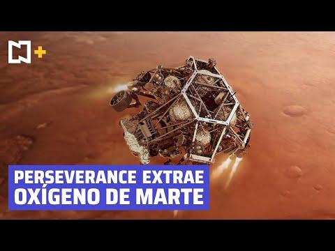 Perseverance logra extraer por primera vez oxígeno de la atmósfera de Marte