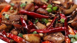 Super Spicy Szechuan Chicken