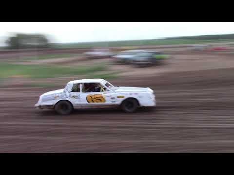 """Salina Speedway Busch Light IMCA Hobby Stocks """"Heat race"""" 7-27-18"""