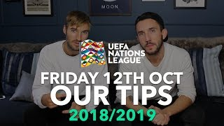 UEFA Nations League Tips - Friday 12th October