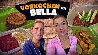 Vlog ♥ Vorkochen | Einkaufen ♥ Food Diary von meiner Schwester Bella