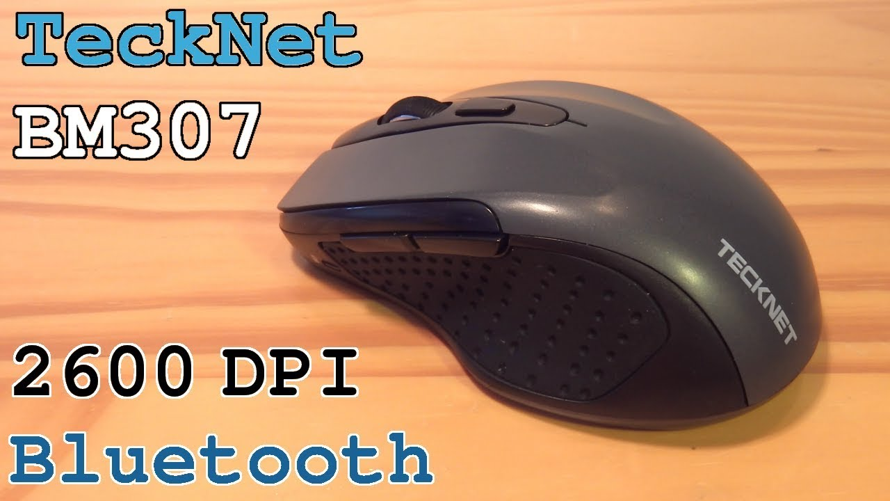 e6613180bfb TeckNet BM307 Bluetooth Mouse 2600 DPI • Unboxing Overview Pairing ...