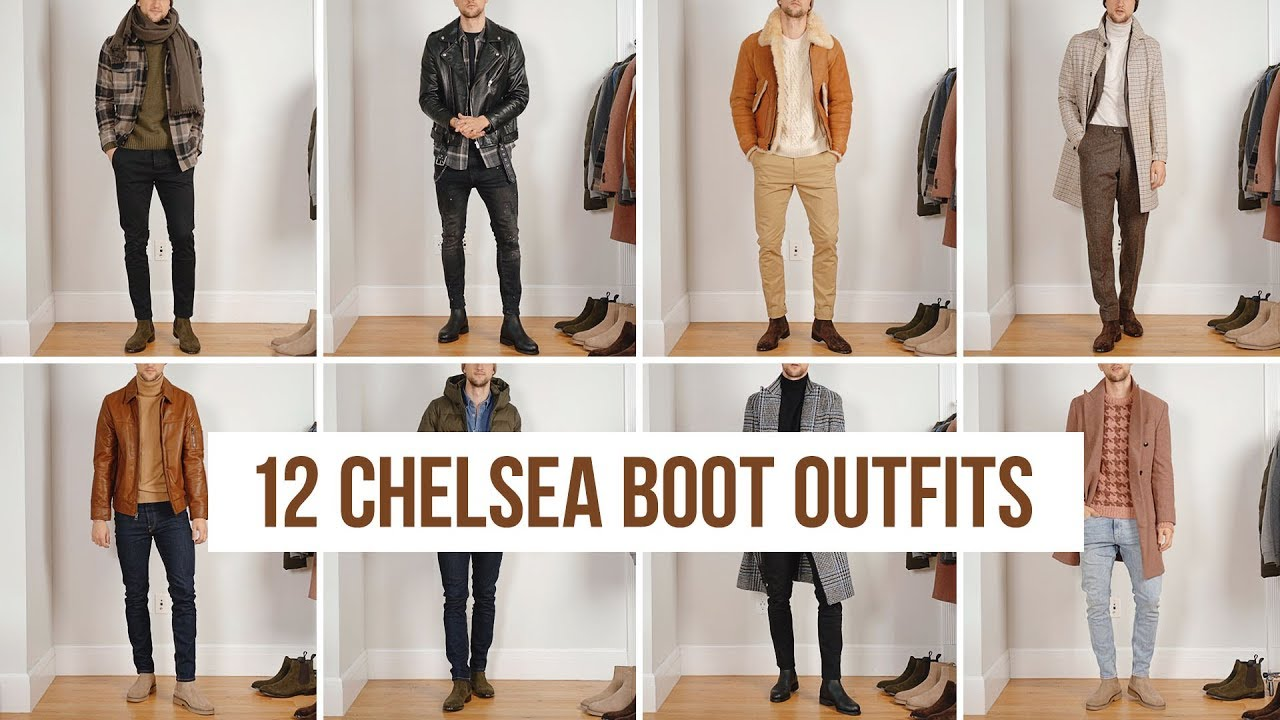 [VIDEO] - 12 Ways to Style Chelsea Boots (Fall/Winter) | Outfit Ideas | Men's Fashion 4