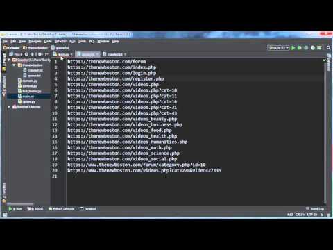 Python Web Crawler Tutorial - 16 - Creating Jobs