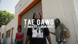 Tae Dawg ft. Omeretta x London Marlie - Leave Me Lonely (Official Video)