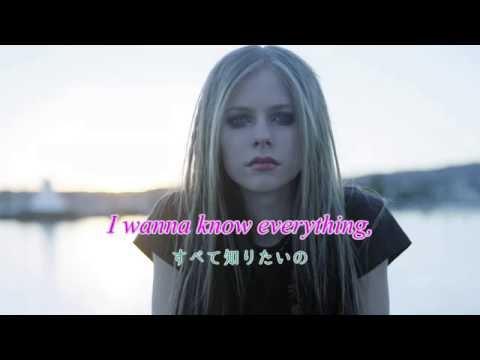 Avril Lavigne - Fall To Pieces - Lyrics & 日本語字幕