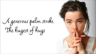 Björk | Generous Palmstroke Lyrics