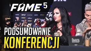 Konferencja FAME MMA 5 - Cringe czy Żenada? Podsumowanie