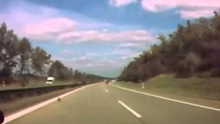 NEW scary car accident on highway in Germany!Citroen C5 crash!ДТП аварии car crashes