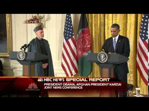 Obama, Karzai agree to military transition, Taliban office 'Undefeated, Recognition?!!'