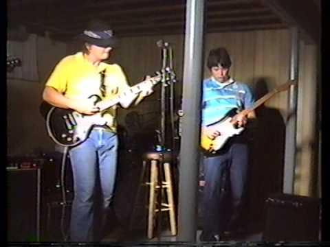 Rehearsal 1986ish Tony Pileggi, George Curtin, John Herring & Rich Dudziak
