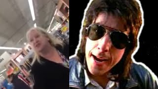 Crazy Lady at Meijer Adam Sandler Steve Polychronopolous Version NSFW