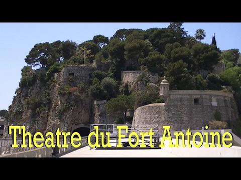 The Theatre de Fort Antoine, Monaco