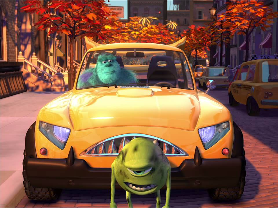 Pixar Short Films Collection Mike S New Car 2002 Youtube
