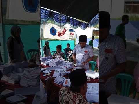 Pemilu 2019 Rt. IV Rw. IV gunung sekar sampang jatim