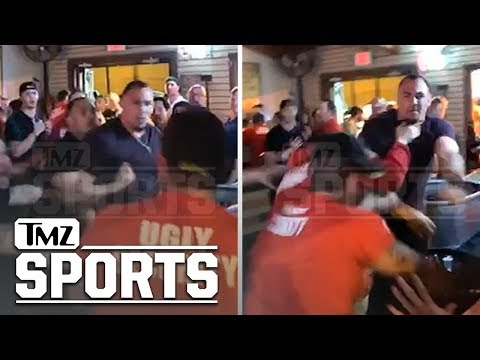 Shay Diddy - Dallas Cowboys Tyrone Crawford Bar Brawl Video Shows Him Dropping Bouncers