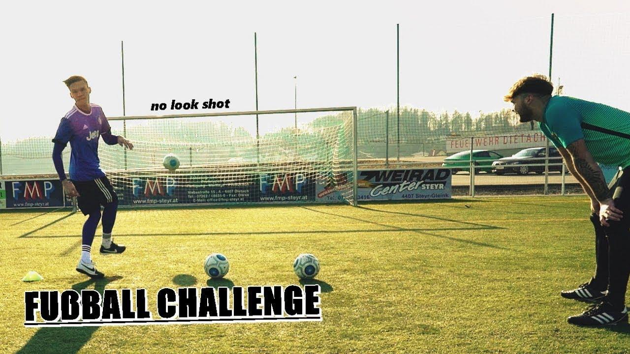 FUßBALL CHALLENGE | Ksfreak vs Krappi | + Bestrafung