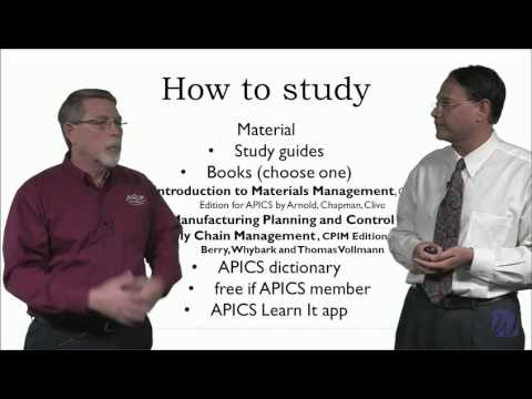 APICS CPIM Program