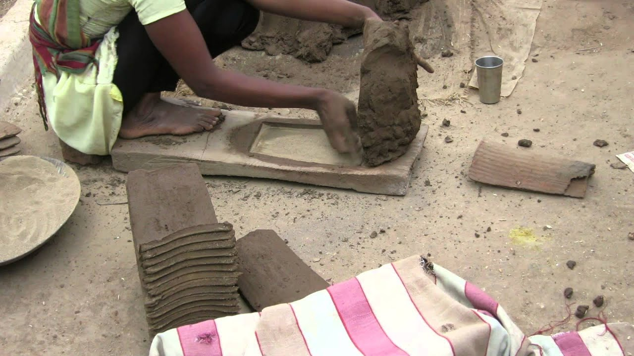 Clay tile making process india youtube dailygadgetfo Image collections