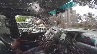 В Туле расстреляли Lexus с коммерсантом
