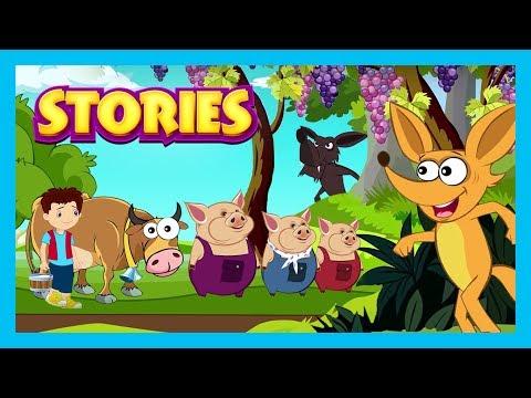 STORIES    English Stories For Kids - Kids Hut Story Compilation    English Stories By Kids Hut