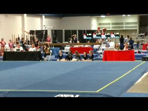 Addison Edwards - Beam 2017 GGI, Greensboro NC-  Hart Gymnastics King, NC Score 8.050