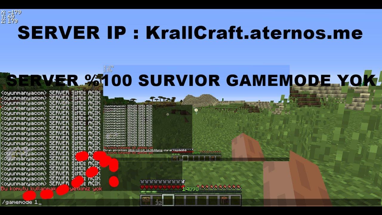 Minecraft Survivor Server - YouTube