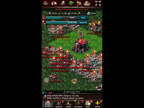 Game Of War Ep 44 Di8 Fight At The Wonder & Wins The Kvk. Many Rally And Counter Rally