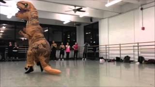 T-Rex Performs Musical Dance Number