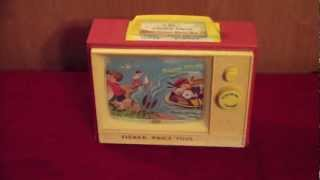 eBay Vintage TV Toy Fisher Price For Sale