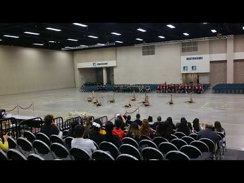 Alamo Middle School Badgerettes Team Contemporary at ShowTime International 2018