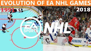 History/Evolution of NHL (1991-2018)