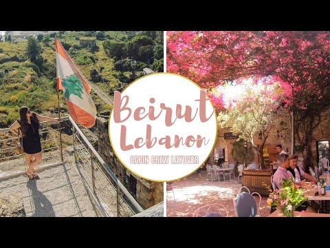 EXPLORING BEIRUT AND BYBLOS // THROWBACK VLOG | Beirut, Lebanon | Cabin Crew Layover