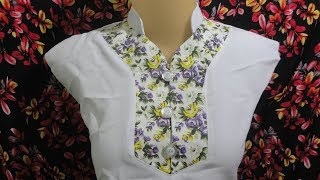 how to sewing a simple blouse model (27)