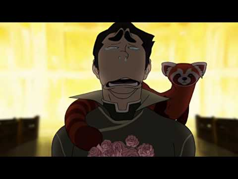 Avatar The Legend of Korra. Bolin cries