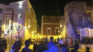 La sparatoria in piazza Abbazia