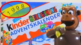 Киндер Сюрпризы 1998 года, попалась ШОКОЛАДНАЯ КАПСУЛА (Rare Kinder Surprise