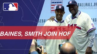 Lee Smith and Harold Baines on Hall of Fame election