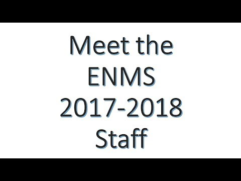 East Noble Middle School:  Meet the 2017- 2018 staff