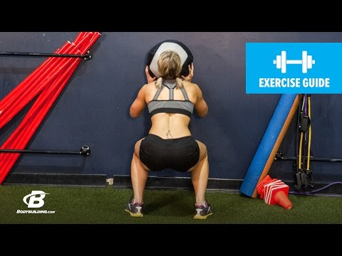 Wall Ball Squats | Exercise Guide