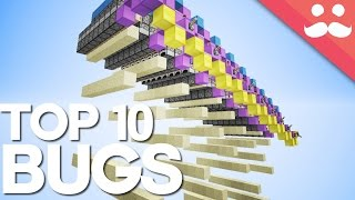 10 Famous Bugs in the History of Minecraft!