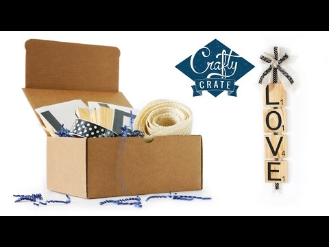 Quick Craft How to: Word Tile Wall Decor - Crafty Crate