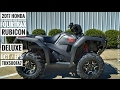 2017 Honda Foreman Rubicon 500 DELUXE DCT / EPS Review of Specs | TRX500FA7 FourTrax ATV 4X4