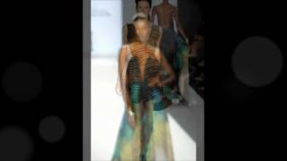 Project Runway Season 9 WINNER & Fan Favorite Anya Ayoung Chee Finale Collection Spring 2012