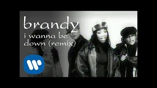 Brandy - I Wanna Be Down (feat. Queen Latifah, Yo-Yo & MC Lyte) [Official Video]
