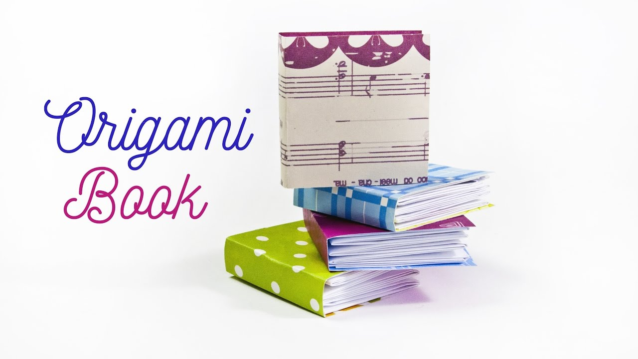 how to make a little book diy origami book paper
