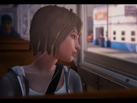 LIFE IS STRANGE - Max listening to music on the bus