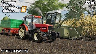 Silage harvest 1/2 | Starowies | Farming Simulator 2019 | Episode 8