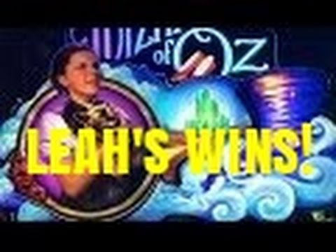 WIZARD OF OZ NOT IN KANSAS ANYMORE SLOT MACHINE-LEAH WINS!