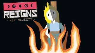 Reigns: Her Majesty Gameplay Walkthrough | Lost In A Hedge Maze | Let